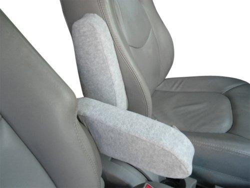 1 Down Arm Light (Chevy HHR 2000-10 Car Truck SUV Auto Armrest Covers - Protect Fold Down Armrest with Fleece Fabric - One PAIR -Medium - Light Gray)