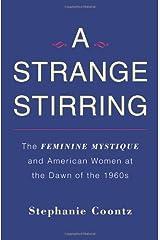 Strange Stirring by Stephanie Coontz (2011-01-27) Hardcover