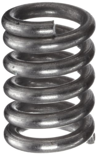 3 Mm Spring - Compression Spring, Stainless Steel, Metric, 3 mm OD, 0.5 mm Wire Size, 8.99 mm Compressed Length, 12 mm Free Length, 8.67 N Load Capacity, 2.72 N/mm Spring Rate (Pack of 10)
