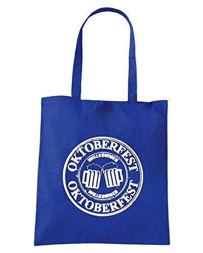 OKTOBERFEST Blu Borsa Royal BEER0106 SEAL Shopper 78EIqEa