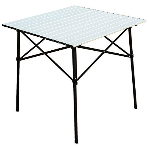 Timber Ridge Portable Roll-Up Aluminum Camping Folding Table by Timber Ridge