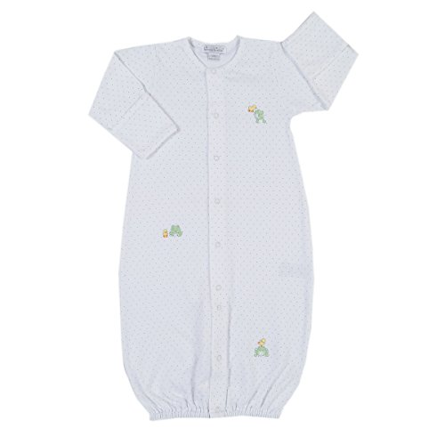 Kissy Kissy Baby Girls Pond Pals Converter Gown-Small -
