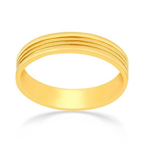 Malabar Gold   Diamonds 22KT Yellow Gold Ring for Men