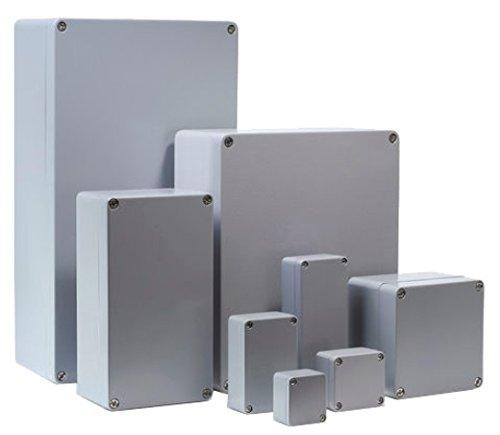 Bernstein 801100011 ca-210 Aluminum Enclosure Surround, Industrial, 122 mm x 122 mm x 90 mm Size 122mm x 122mm x 90mm Size