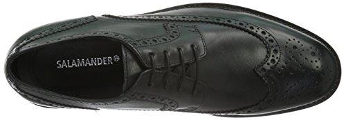 Salamander Piet, Zapatos de Cordones Brogue para Hombre Negro - negro (negro 01)