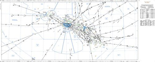 FAA Chart: IFR Enroute Low/High Pacific Hawaii (Current Edition)