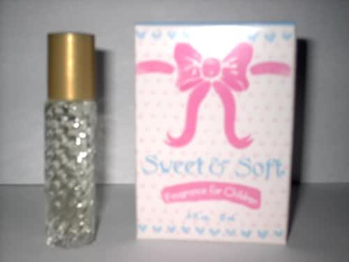 Sweet & Soft Baby Fragrance - Kids Fragrance - Perfect Size for Travel ! Great for Baby Showers! Toddlers Love it!