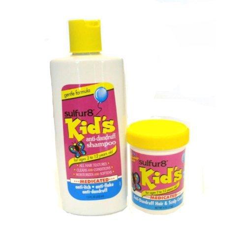 Сера 8 Дети против перхоти лечебный шампунь, и волос и кожи головы Кондиционер