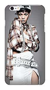 custom fashionable cool TPU phone case with New Style Cool Rihanna design phone accessory for iphone 6 by supermalls