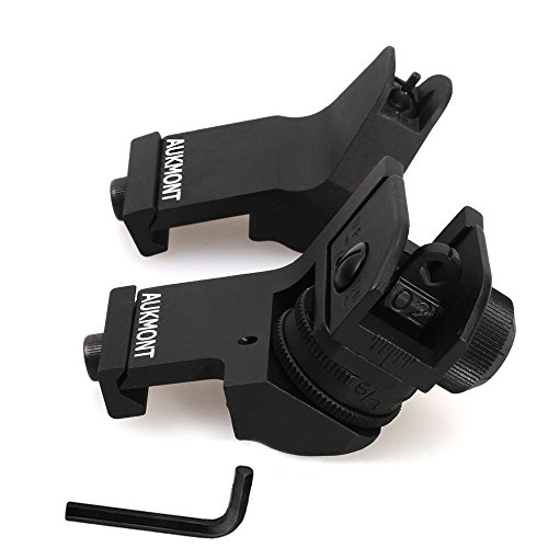 Aukmont-Plus-Backup-Iron-Sights-Tactical-45-Degree-Offset-Rapid-Transition-with-Hexagon-Wrench