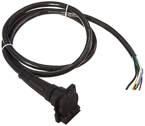 - Bargman 5087007 7-Way Sealed Car End with 7' Molded Cable