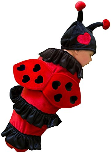 Princess Paradise Baby's Lexi Ladybug, Red/Black, Infant
