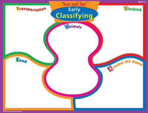 Magnetic Early Classifying Board Game - Super Duper Educational Learning Toy for Kids