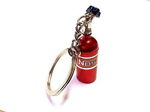 ore 1x NOS Power Lachgas Flasche Einspritzung Schlüsselanhänger rot aus ALU Schlüssel KFZ PKW G60 G40 VR6 16V Flasche mit abnehmbarnen Deckel Anhänger ca 10, 0 Lang & 1, 6 Breit 6423