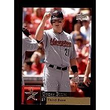 2009 Upper Deck # 661 Geoff Blum Houston Astros (Baseball Card) Dean's Cards 8 - NM/MT Astros
