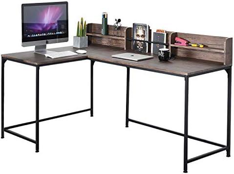 GreenForest L Shaped Corner Desk