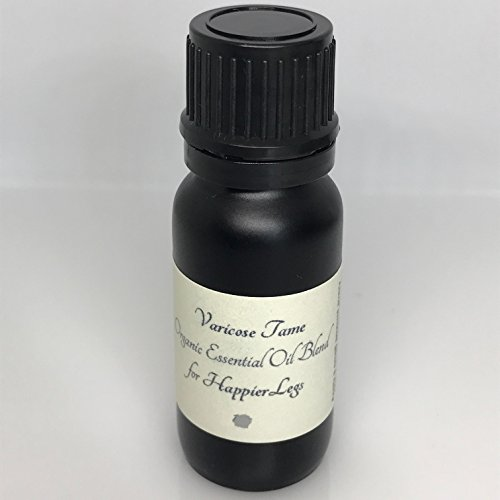Varicose Veins | Spider Veins Tame Time Happy Legs Support Oil Blend | All Natural Organic Oil Treatment Helps Diminish Appearance of Varicose Veins