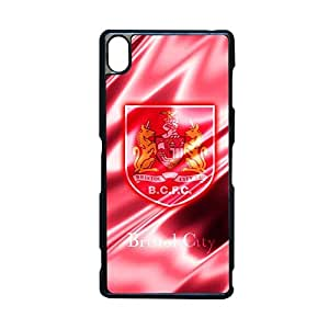 Abstract Phone Case For Girly Custom Design With Bristol City Football Club For Z3 Xperia Choose Design 1
