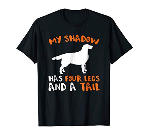 (My Shadow Has 4 Legs And A Tail Retriever Dog)