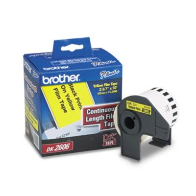 (Brother® Continuous Length Label Tape for QL Label Printers LABEL,2-3/7X50' (Pack of2))