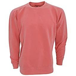 Comfort Colors Adults Unisex Crew Neck Sweatshirt (M) (Chalky Mint)