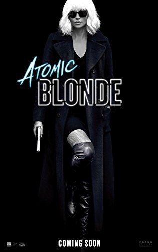 Atomic Blonde 2017 Original Authentic Movie Poster - Dbl-Sided - Charlize Theron - Sofia