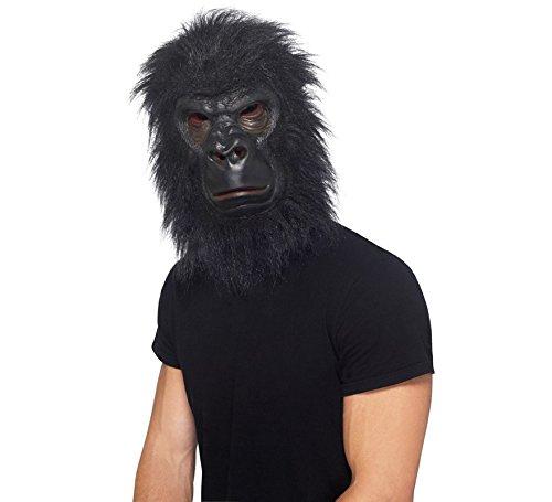Smiffys Adult Gorilla Halloween Costume Animal Latex -