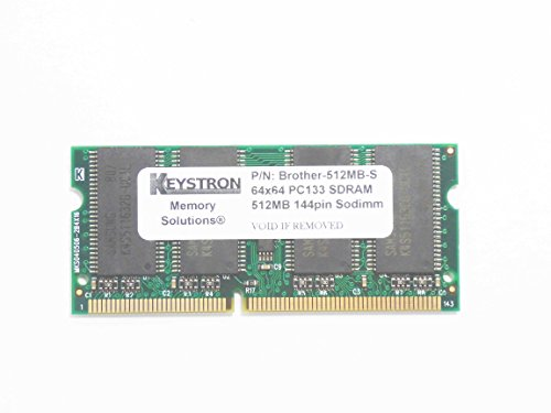 512MB PC133 144pin SDRAM SODIMM Memory for Brother Printer MFC-8860DN, MFC-8870DW, MFC8860DN, MFC8870DW by Keystron, LLC