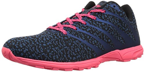 inov-8 Women's F-Lite 195 CL (W) Cross-Trainer-Shoes, Blue/Pink, 9.5 a US by inov-8 (Image #1)