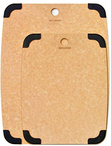 Epicurean Cutting Board Set, Two Non Slip Boards 15