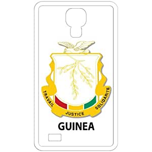 Guinea - Country Coat Of Arms Flag Emblem White Samsung Galaxy S4 i9500 Cell Phone Case - Cover