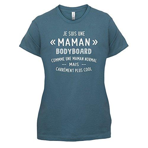 une maman normal bodyboard - Femme T-Shirt - Bleu - XXL