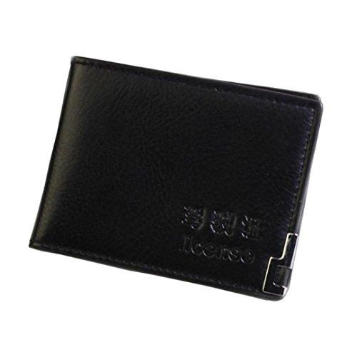 Teresamoon Business Name Card Holder Case Wallet (Bi Fold Screen Print Wallet)