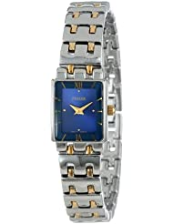 Pulsar Womens PEG363 Two-Tone Stainless Steel Bracelet Watch