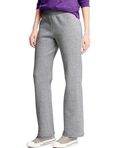 Hanes ComfortSoft Women's Open Bottom Leg Fleece Sweatpant_Lt Stl_L