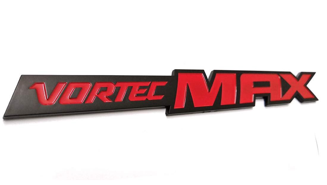 Badge Plate Band Decal Replacement for Chevrolet 06-09 Silverado Sierra SS 6.0 Gm Truck 6.0 Liter Black Red Emzscar 3pcs Vortec Max Door Emblem Logo