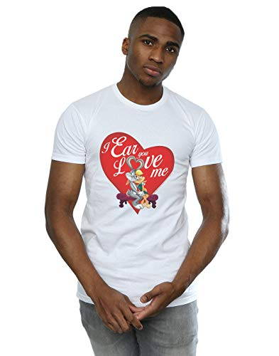 Valentine's Blanc And Me T Looney Love Tunes Bunny shirt Bugs Lola Homme Day 6wqBYR7q