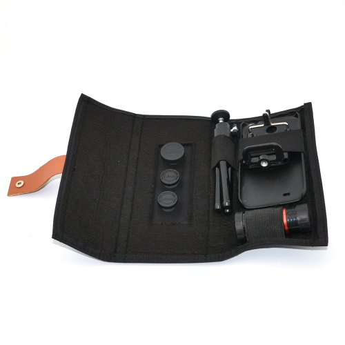 Apexel 4 in 1 Camera Lens Kit Macro & Wide Angle/ Fisheye...