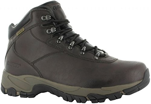(Hi-Tec Men's Altitude V I Waterproof Wide Hiking Boot,Dark Chocolate/Light Taupe/Black,9 W US)