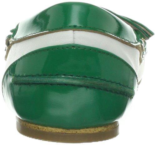 Tout Noir Ball Pattes Femme Plat Vert