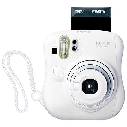 Fujifilm - Instax Mini 25 White Camera Instant Cameras at amazon