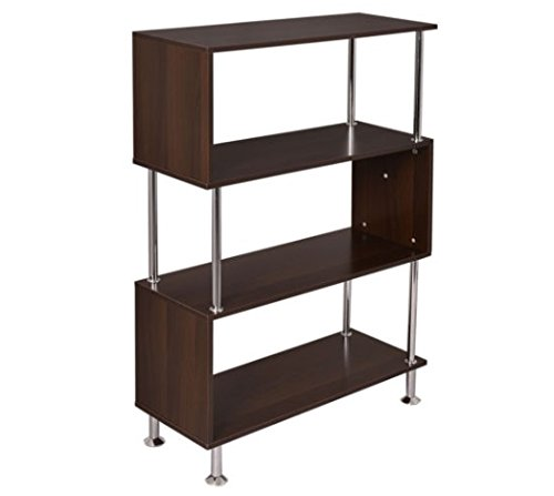 32x12x45-3-shelf-bookcase-wooden-bookshelf-storage-display-unit-furniture-new-us