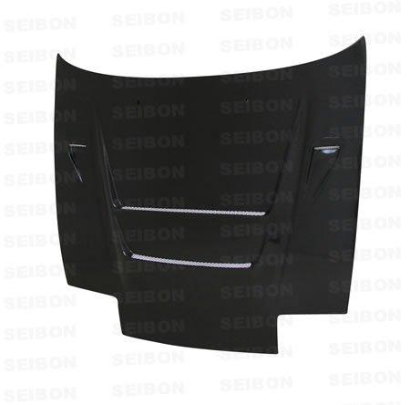 SEIBON 89-94 Nissan 240SX Carbon Fiber Hood DVII S13 - Hood Carbon Fiber s13