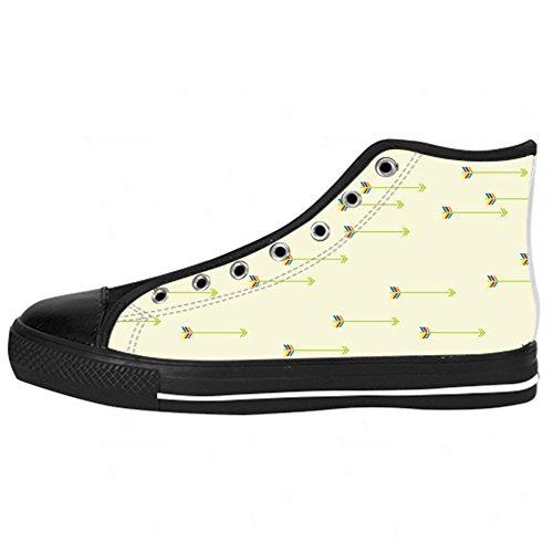 Ginnastica Sopra In Men's Shoes Delle Da Canvas Schema Scarpe Le Lacci Tela Freccia I Custom Di Alto qzPH6w