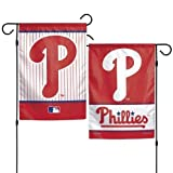 "WinCraft Philadelphia Phillies Garden Flag 2 Sided 12.5"" x 18"" MLB"