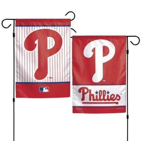 a Phillies Garden Flag 2 Sided 12.5