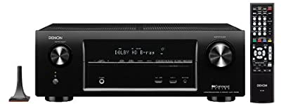 Denon AVR-X1000 5.1-Channel Networking Home Theater AV Receiver with AirPlay