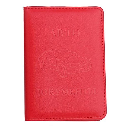 Men Women Leather Multifunction Card Holder Driving Licence ID Credit Card Protector Holder Purse (Driving Licence Holder)