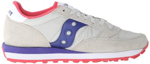 Original Cross Jazz Grey Purple de Femme Chaussures Dark Saucony Light PIwqP