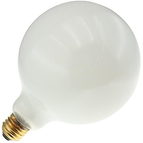 Industrial Performance 100G40/W 130V, 100 Watt, G40, Medium Screw (E26) Base Globe Light Bulb (1 Bulb) (Medium G40 Screw)